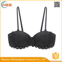HSZ-58042 OEM Service Sexy Transparent Underwear Bra Large Sizes For Women Thick Padded Bra