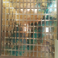 wholesale stained glass sheet for dining table wall window cabinet and bathroom