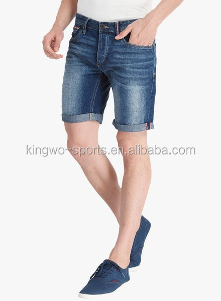 Man Latest Designs Denim Shorts Men's Stylish Shorts