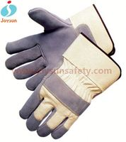 Safety glove wet applications custom colored cabretta leather golf gloves