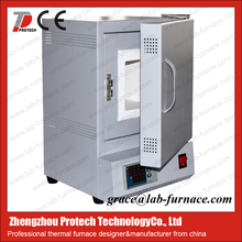 PID control lab used 1200c programmable chamber muffle furnace with resistance wire
