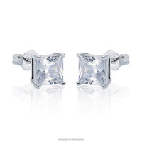Most Popular Earrings Princess Cut Earring