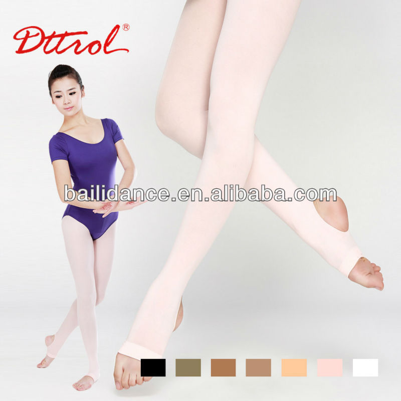 D004822 Dttrol nylon trample feet tube pantyhose for women
