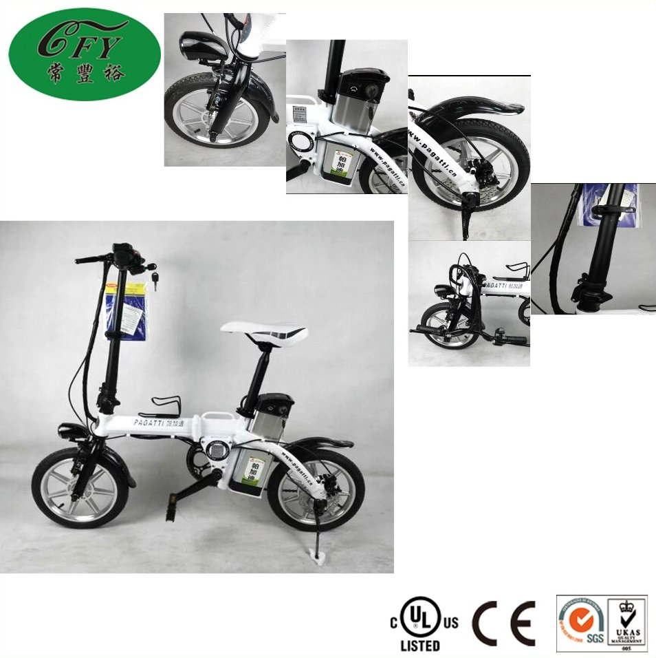 New Model 6061 Aluminum Alloy folding Electric Bicycle/Foldable Electric Bike