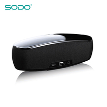 SODO China Shenzhen Manufacturer Stereo Mobile Phone Laptop Sound Microphone Loud Customize Bluetooth Speaker With Fm