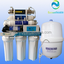 residential 7 stages alkaline RO system with UV sterilizer / mineral RO water filter