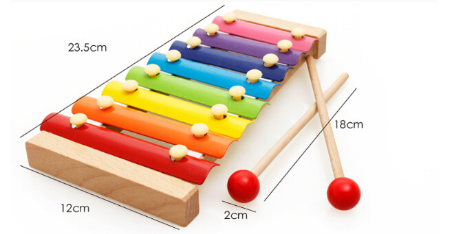 FQ Brand Hot Sale Educational Music Instrument Toy Xylophone For Kid