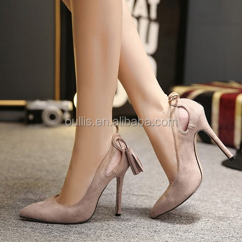 6 years experience shoes factory sexy high heels women dress shoes PE4090