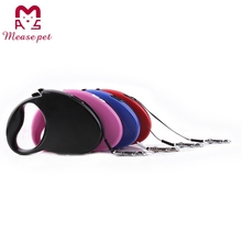 small and medium dog lead pet leash retractable