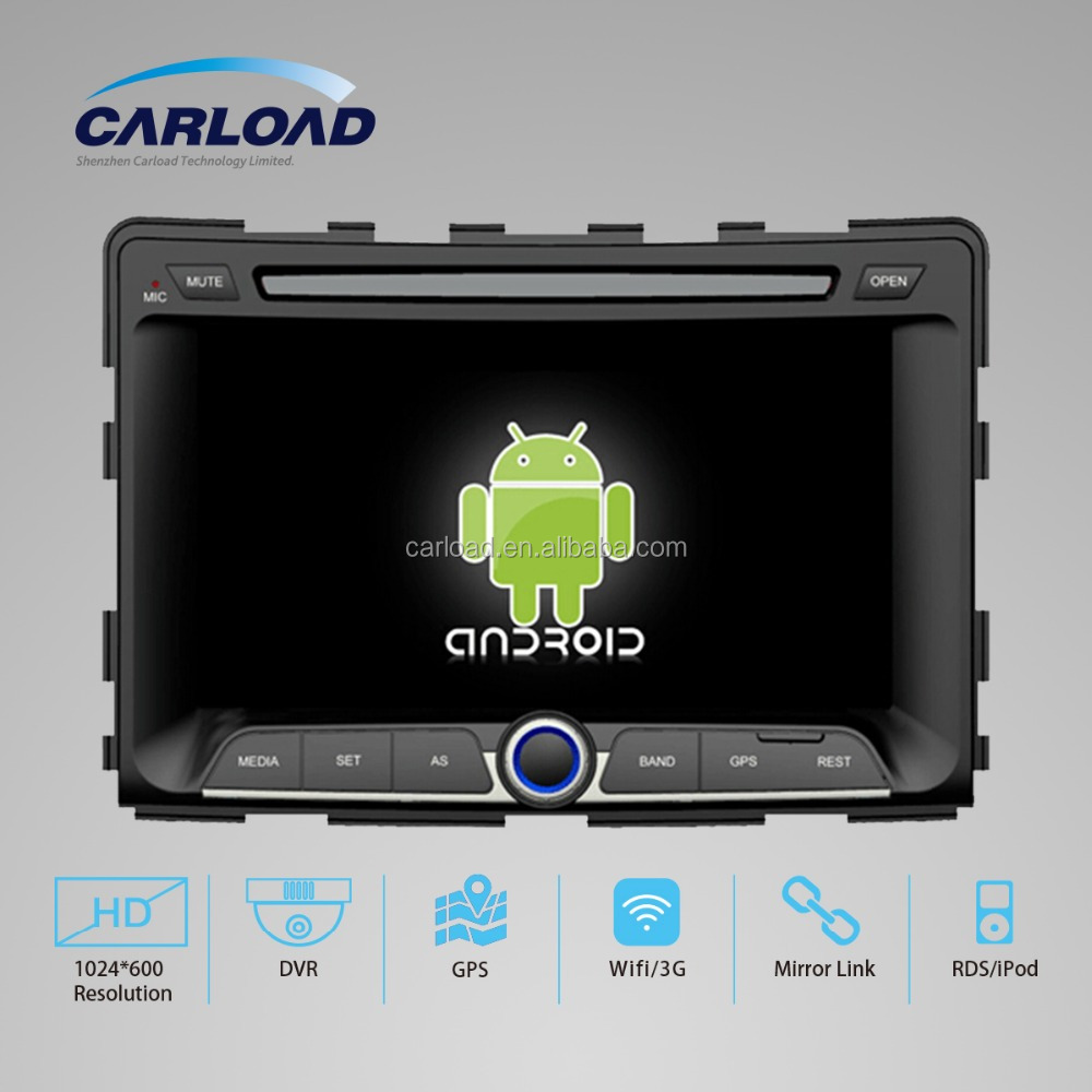 ANDROID 5.1.1 FOR SSANGYONG RODIUS 2014 AUTO CAR DVD WITH