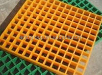 Fiberglass solid grille,Water resistance steel grating,Tree protection frp grating