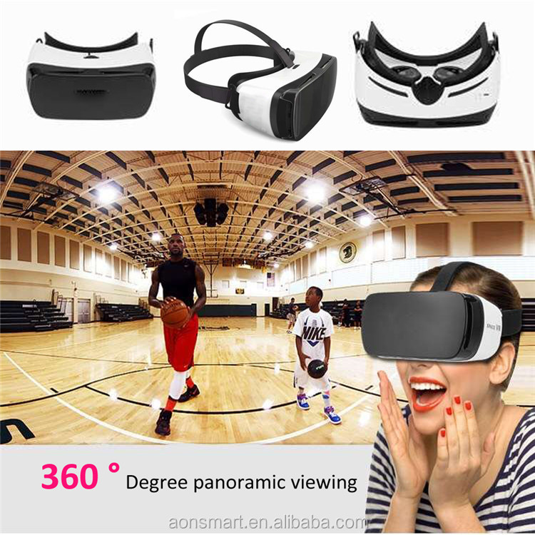 New 3d vr headset virtual reality 3d glasses for blue film video open sex