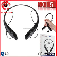 Hot selling new model HV-900 headset bluetooth for music and calls