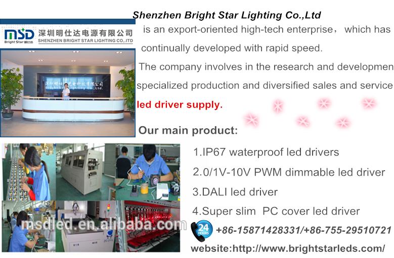 factory price 0-10V dimmable led driver 60W 700ma 1000ma 1500ma constant current led power supply