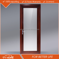 Made in China Exterior Tempered Glass aluminum door hinges accessories hot sale in alibaba europe