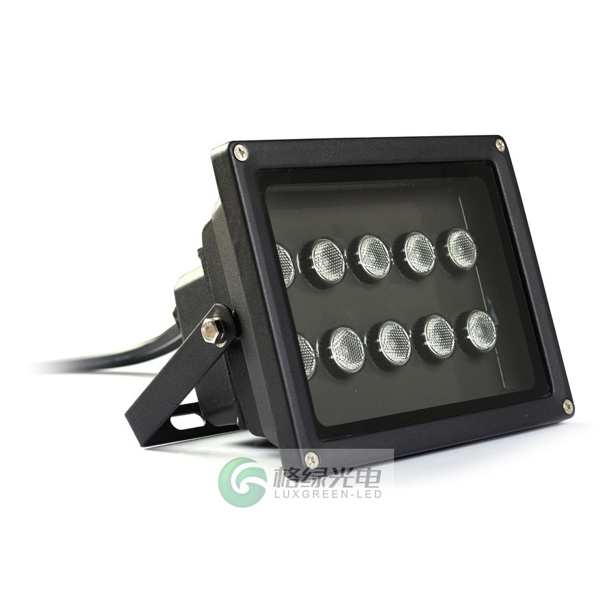 10X3W 3In1 Rgb 24Vdc Led Outdoor Lamp Landscape Floodlight Garden Floodlight With Ce Rohs