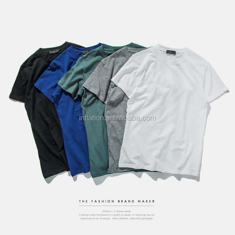 bamboo cotton tee <strong>shirt</strong> oversize for men