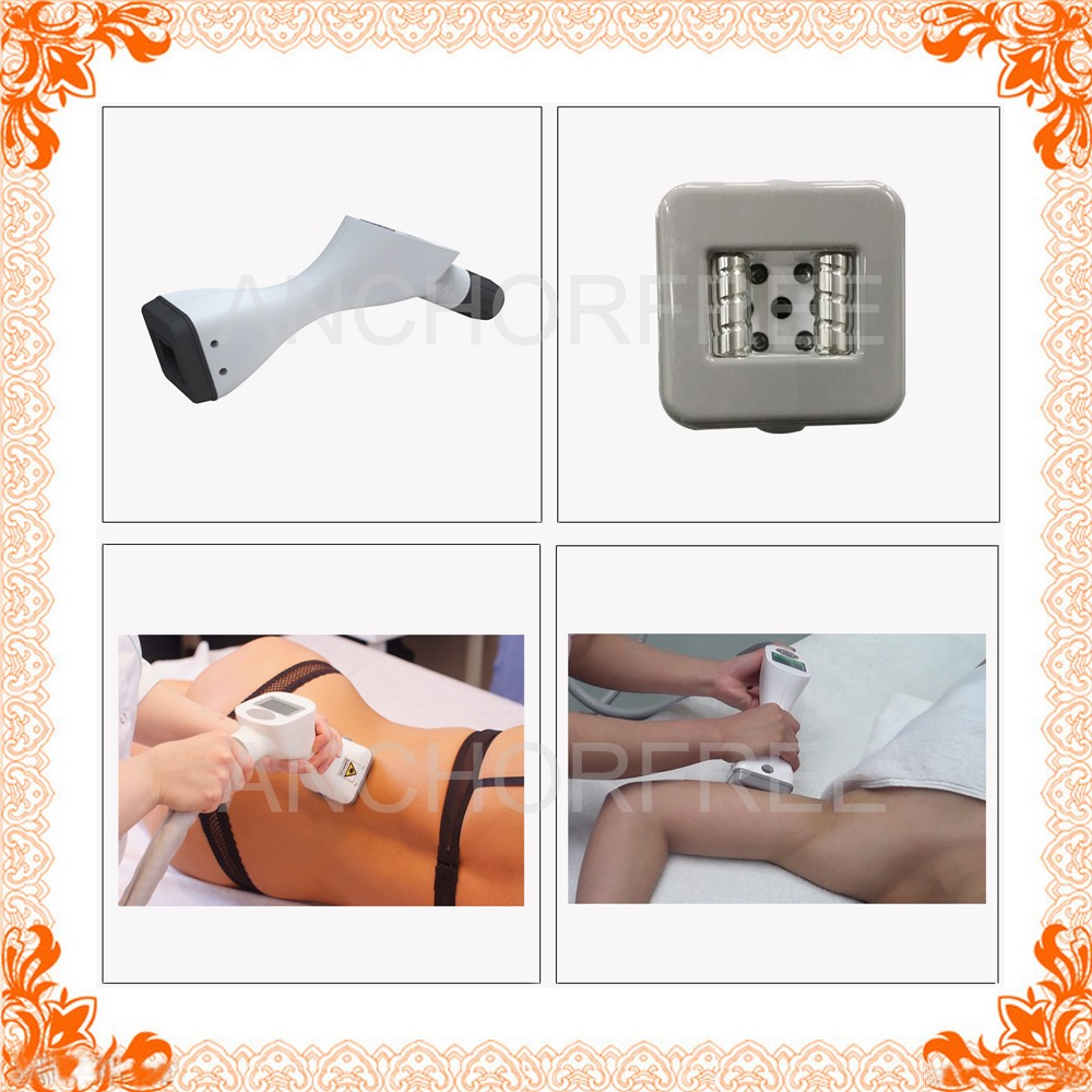 Ultrasonic Cavitation+Vacuum Liposuction+Laser+Bipolar RF+Roller Cellulite Reducing Beauty Equipment Body Massage (V8C1)