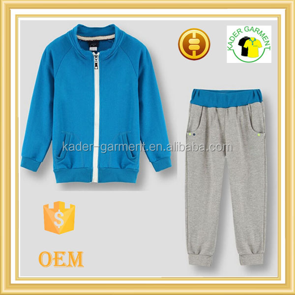 new arrival 2016 kids boys tracksuit sweat suit