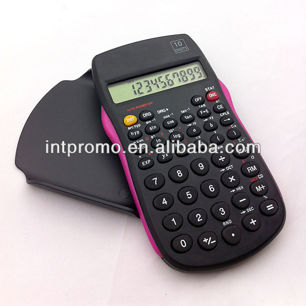 2017 promotional 56 function 10 digits scientific cheap desktop calculator