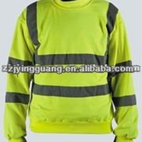 ANSI Class 2 Safety Sweat Shirts