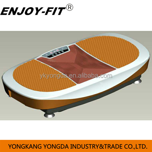 2015 new design 3D vibration plate two motor crazy fit massage