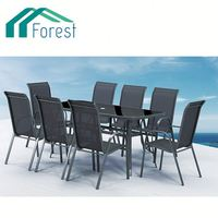 New Design CE Certificate rattan dining round table and chairs