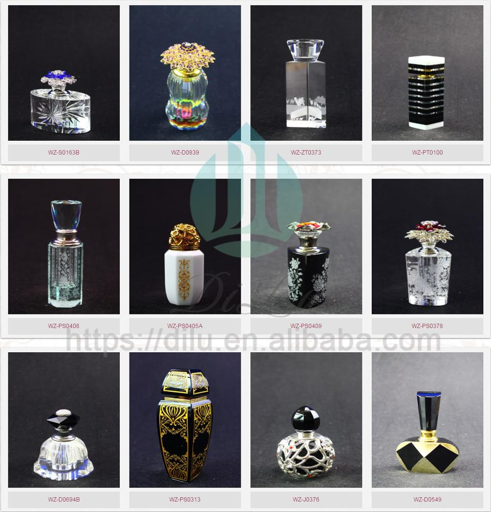 Hot Sale High Quality Crystal Attar Fragrance Car K9 Spray Perfume Glass Bottle 30ml With Box Products
