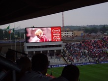 P16 outdoor full color led display Stadium sport live high brightness large led screen advertising 256*256MM From China