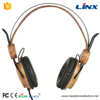 Environment Protect Custom Wood Headphones For