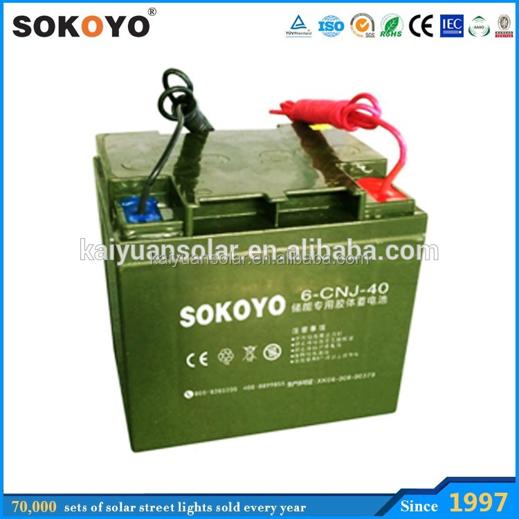 12V 100ah Rechargeable Solar Power Gel Solar System UPS Battery
