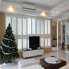 Customized Aluminum Reinforced PVC Window Louver Shutters from China