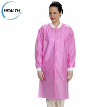 Disposable Sms Nonwoven Polypropylene Lab Coat Products