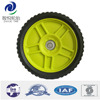 8 inch lawn mower plastic wheel for garden cart, trolley, hand truck