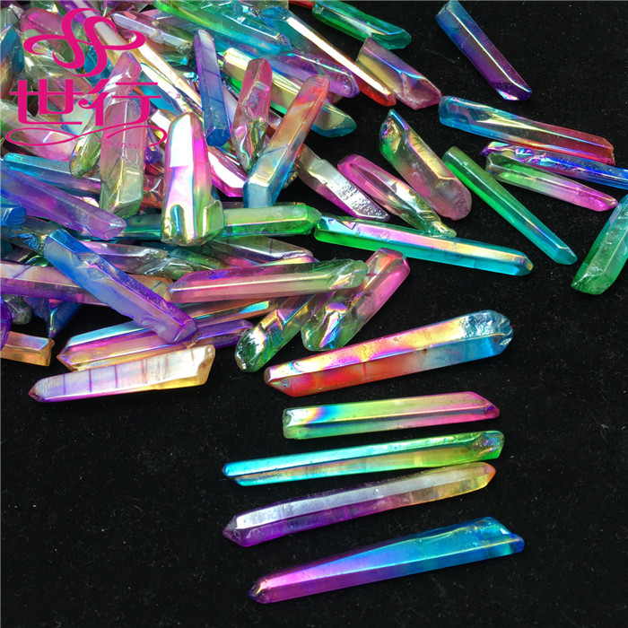 wholesale raw natural healing angel aura quartz crystal terminated <strong>point</strong>