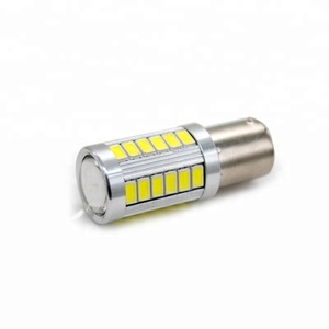 S25 P21w 1156 Ba15s 1157 Bay15d Car Led 5630 33SMD Bulbs For Universal Car Brake Parking Lights Lamps Strobe White 12v