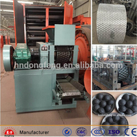 high capacity charcoal/coal powder briquette ball press machinery