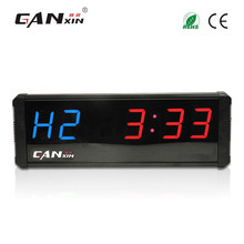 [Ganxin]4'' Convenient Led Promotion Fitness Timer Electronic Digital Gym Crossfit Interval Training Timer Clock