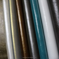 pu material and backing nonwoven technics glitter pu leather