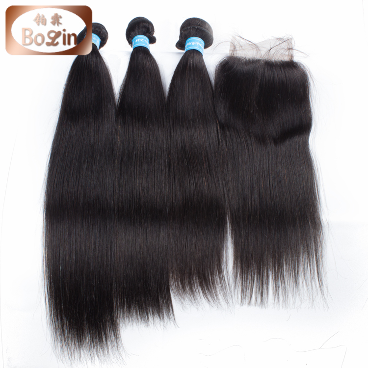 "Wholesale Brazilian Hair China Suppliers 8""-30"" Silky Straight 7A 8A Grade Brazilian Hair Extension"
