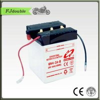 Standard Dry Charge Rechargeable Storage Motorcycle Battery 6N4-2A-8 (6V4AH)