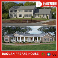 China steel frame structure prefab modular homes for sale