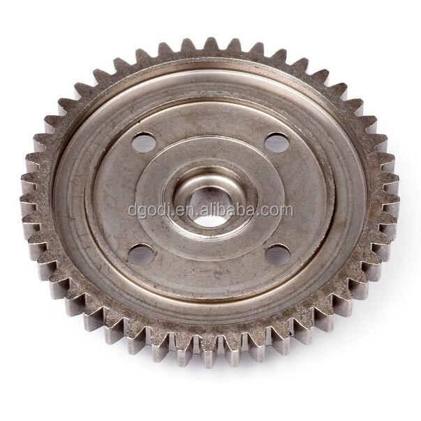 high quality assurance spur spare parts center transmission spur gear 46 tooth