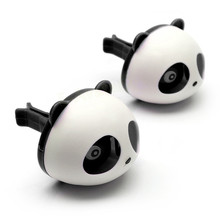 Car Perfumes Solid Car-styling Panda Air Freshener OEM Air Conditioning Vent Flavoring In the Car parfums