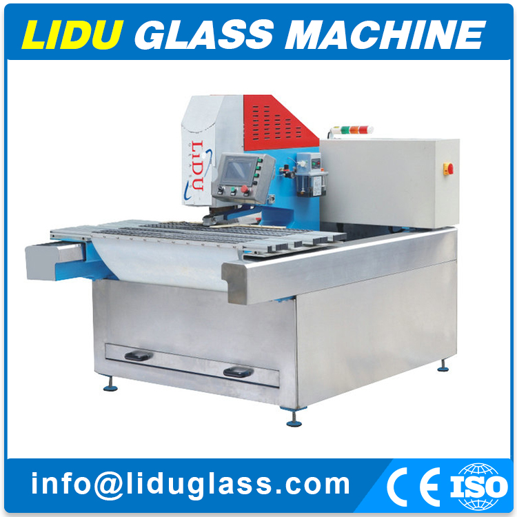 Automatic Horizontal Double driller Glass Drilling Machine