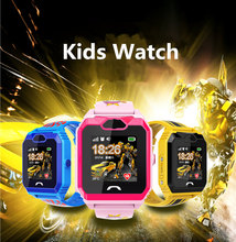 Kids Smart Watch SOS LBS Location Tracking Touch Screen Smart Watch With Camera IP67 Waterproof for IOS Andriod