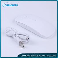 slim bluetooth mouse ,MX047 wood mouse for computer
