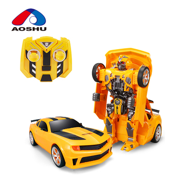 Trending products child deformation robot toy remote control car for wholesale