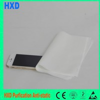 Screen Polyester Wiper Camera Wiper 110gsm Esd Polyester Cleanroom Wipes