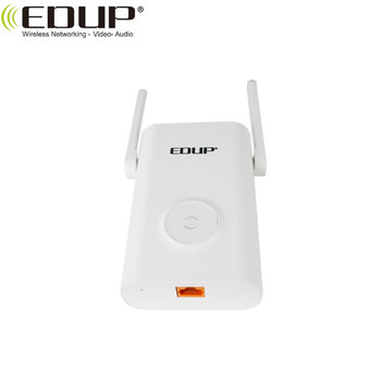 EDUP 1200Mbps IEEE 802.11b/g/n/ac Standard 2.4GHz/5GHz Dual Band wireless repeater